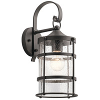 Mill Lane 1 Light 16 inch Anvil Iron Outdoor Wall Light, Medium