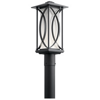 Kichler 49976BKTLED Ashbern LED 19 inch Textured Black Outdoor Post Lantern