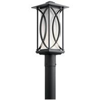 Kichler 49976BKTLED Ashbern LED 19 inch Textured Black Outdoor Post Lantern