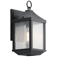 Kichler 49984DBK Springfield 14 inch Distressed Black Outdoor Wall Mount Small