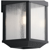 Kichler 49986DBK Springfield 1 Light 21 inch Distressed Black Outdoor Wall Mount, Large alternative photo thumbnail