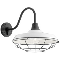Kichler 49991WH Pier 1 Light 16 inch White Outdoor Wall Light, X-Large