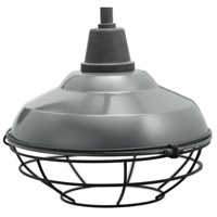 Kichler 49992GG Pier 1 Light 13 inch Gloss Grey Outdoor Flush Mount alternative photo thumbnail
