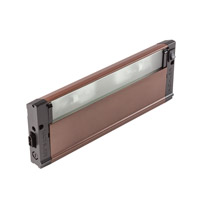 4U Series 12V 12 inch Bronze Textured Xenon Under Cabinet Lighting in 12 in.