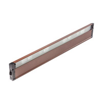 4U Series 12V 30 inch Bronze Textured Xenon Under Cabinet Lighting in 30 in.