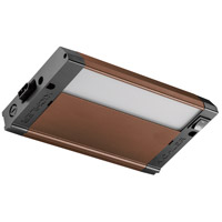 4U Series 120V 8 inch Bronze Textured LED Under Cabinet Lighting in 8 in.
