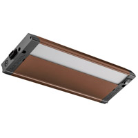 4U Series 120V 12 inch Bronze Textured LED Under Cabinet Lighting in 12 in.