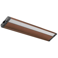 4U Series 120V 22 inch Bronze Textured LED Under Cabinet Lighting in 22 in.