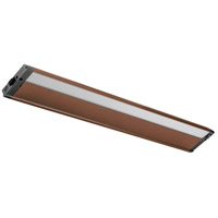 4U Series 120V 30 inch Bronze Textured LED Under Cabinet Lighting in 30 in.