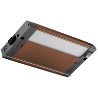 Kichler 4U30K08BZT 4U Series 120V 8 inch Bronze Textured LED Under Cabinet Lighting in 8 in. photo thumbnail
