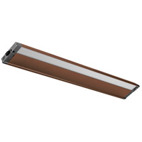 Kichler 4U Series LED 3000K Under Cabinet Lighting in Bronze Textured 4U30K30BZT