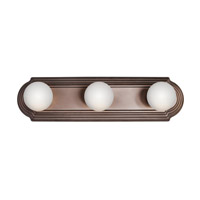 Kichler 5003TZ Signature 3 Light 18 inch Tannery Bronze Bath Vanity Wall Light