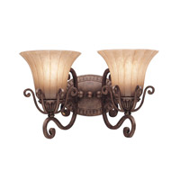 Kichler Lighting Cottage Grove 2 Light Bath Vanity in Carre Bronze 5056CZ