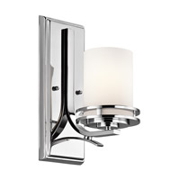 Kichler 5076CH Hendrik 1 Light 5 inch Chrome Bath Vanity Wall Light