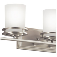 Kichler 5085NI Hendrik 5 Light 43 inch Brushed Nickel Wall Mt Bath 5 Arm Or More Wall Light alternative photo thumbnail