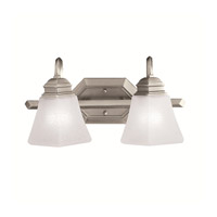 Kichler Lighting Polygon 2 Light Bath Vanity in Antique Pewter 5102AP photo thumbnail