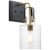 Kichler 52036NBR Kitner 1 Light 7 inch Natural Brass Wall Bracket Wall Light