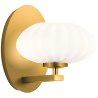 Kichler 52229FXG Pim 1 Light 7 inch Fox Gold Wall Bracket Wall Light