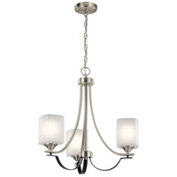 Brushed Nickel Steel Tula Chandeliers