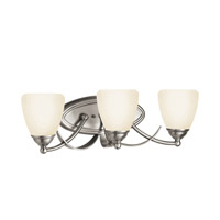 Kichler Lighting Lombard 3 Light Bath Vanity in Antique Pewter 5240AP photo thumbnail