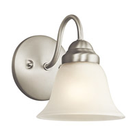 Kichler 5294NI Wynberg 1 Light 6 inch Brushed Nickel Wall Sconce Wall Light photo thumbnail
