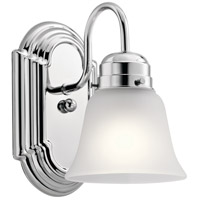Kichler 5334CHS Independence 1 Light 5 inch Chrome Wall Bracket Wall Light