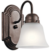 Kichler 5334TZS Signature 1 Light 5 inch Tannery Bronze Wall Bracket Wall Light photo thumbnail