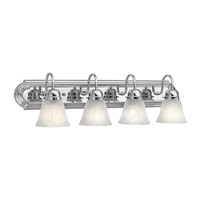 Kichler 5338CH Signature 4 Light 30 inch Chrome Bath Vanity Wall Light photo thumbnail