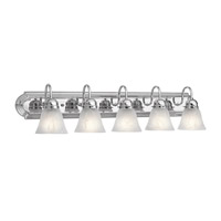 Kichler 5339CH Signature 5 Light 36 inch Chrome Bath Vanity Wall Light