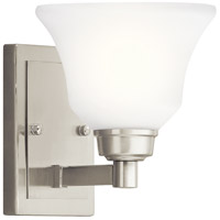 Langford 1 Light 7 inch Brushed Nickel Wall Sconce Wall Light in Standard