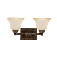 Kichler Lighting Langford 2 Light Bath Vanity in Canyon Slate 5389CST photo thumbnail