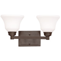 Kichler Lighting Langford 2 Light Bath Wall in Olde Bronze 5389OZ