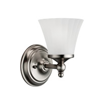 Kichler Lighting Lilly 1 Light Bath Vanity in Antique Pewter 5454AP photo thumbnail