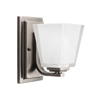 Kichler 5459AP Urban Ice 1 Light 5 inch Antique Pewter Bath Vanity Wall Light