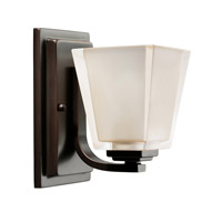 Kichler Lighting Urban Ice 1 Light Bath Vanity in Olde Bronze 5459OZ photo thumbnail