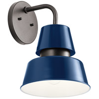 Kichler 59002CBL Lozano 1 Light 13 inch Catalina Blue Outdoor Wall Sconce Large