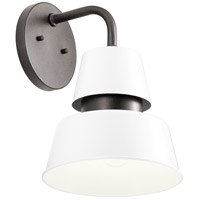 Kichler 59002WH Lozano 1 Light 13 inch White Outdoor Wall Sconce Large
