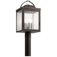 Kichler 59013RZ Carlson 4 Light 20 inch Rubbed Bronze Outdoor Post Lantern