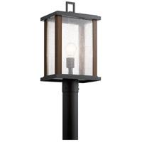 Kichler 59019BK Marimount 1 Light 18 inch Black Outdoor Post Lantern