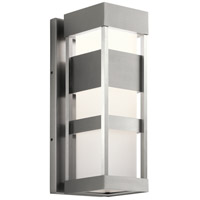 Kichler 59036BALED Ryler LED 19 inch Brushed Aluminum Outdoor Wall Sconce Medium