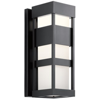 Kichler 59036BKLED Ryler LED 19 inch Black Outdoor Wall Sconce Medium