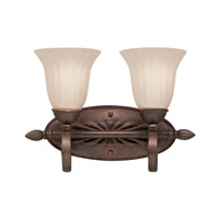 Willowmore 2 Light 16 inch Tannery Bronze Bath Vanity Wall Light