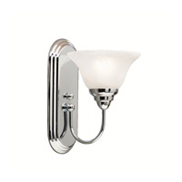 Kichler 5991CH Telford 1 Light 7 inch Chrome Wall Sconce Wall Light