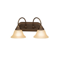Telford 2 Light 18 inch Olde Bronze Bath Vanity Wall Light