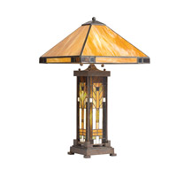 Kichler Lighting Steveston 4 Light Table Lamp in Patina Bronze 60010CA