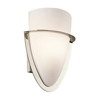 Kichler Lighting Palla 1 Light Wall Sconce in Polished Nickel 6020PN photo thumbnail