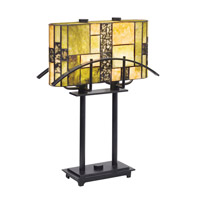 Kichler Lighting Bayonne 2 Light Table Lamp in Satin Black 60282 photo thumbnail