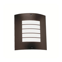 Kichler 6040AZ Newport 1 Light 10 inch Architectural Bronze Outdoor Wall Lantern