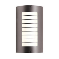 Kichler Newport 2 Light Outdoor Wall - Large in Architectural Bronze 6048AZ