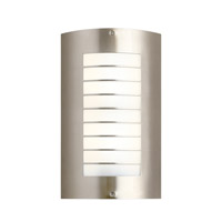 Newport 2 Light 15 inch Brushed Nickel Outdoor Wall - Large